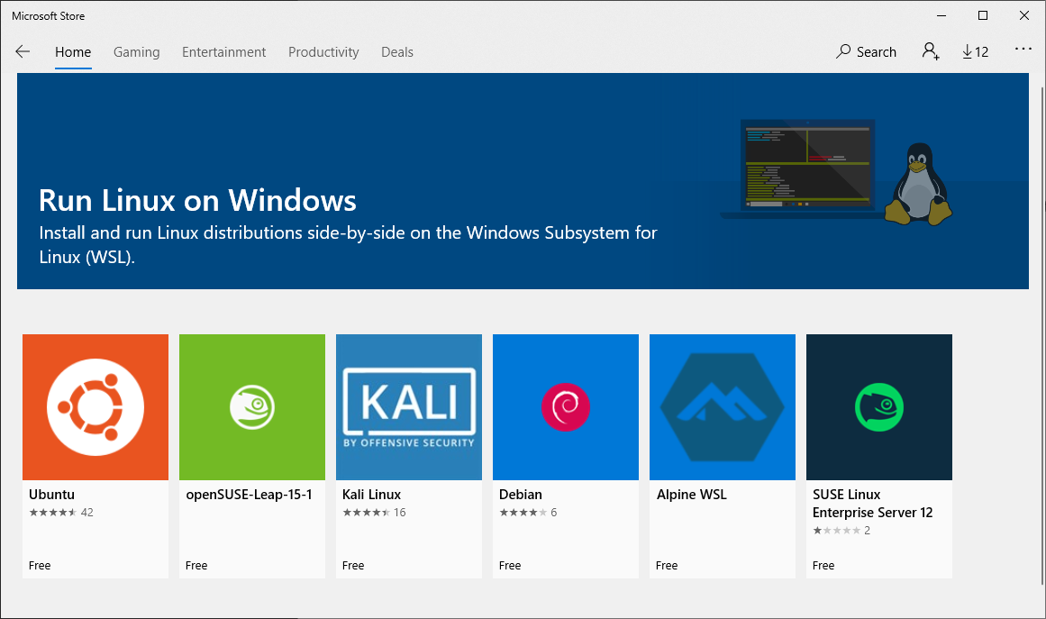 Microsoft App Store Run Linux On Windows